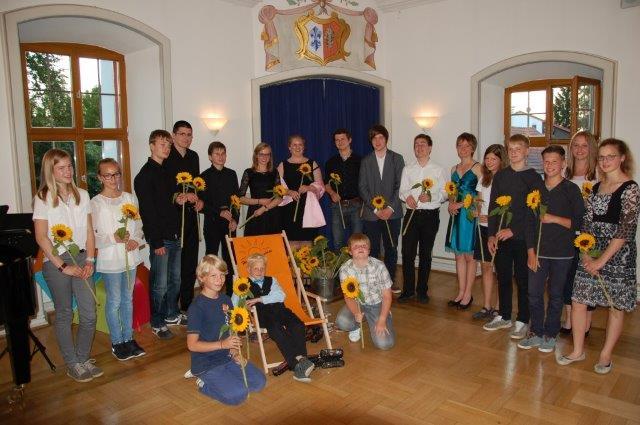 Alle Teilnehmer des Solistenkonzertes 2014
